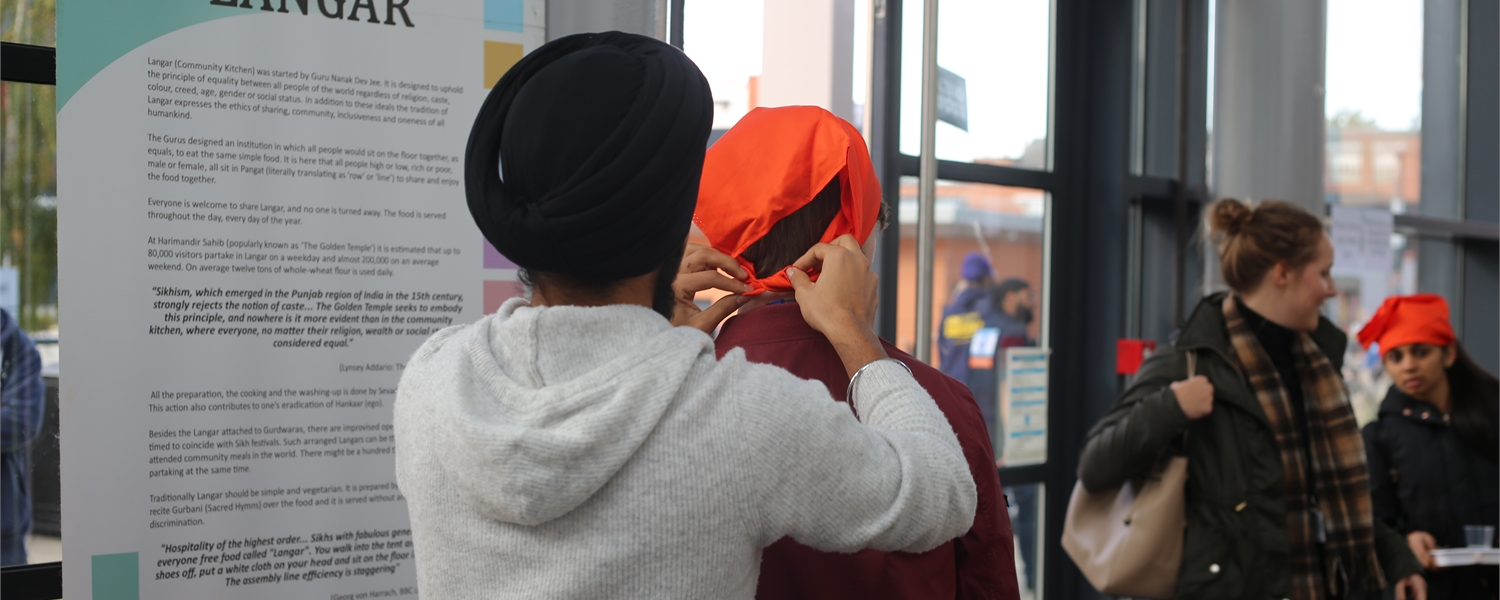 DMU Sikh Society fed over 400 students for Langar