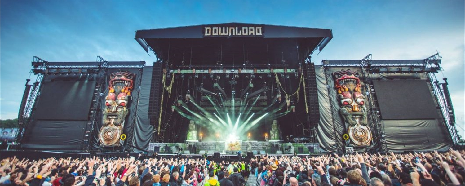 WIN: We're giving away a pair of tickets to Download Festival