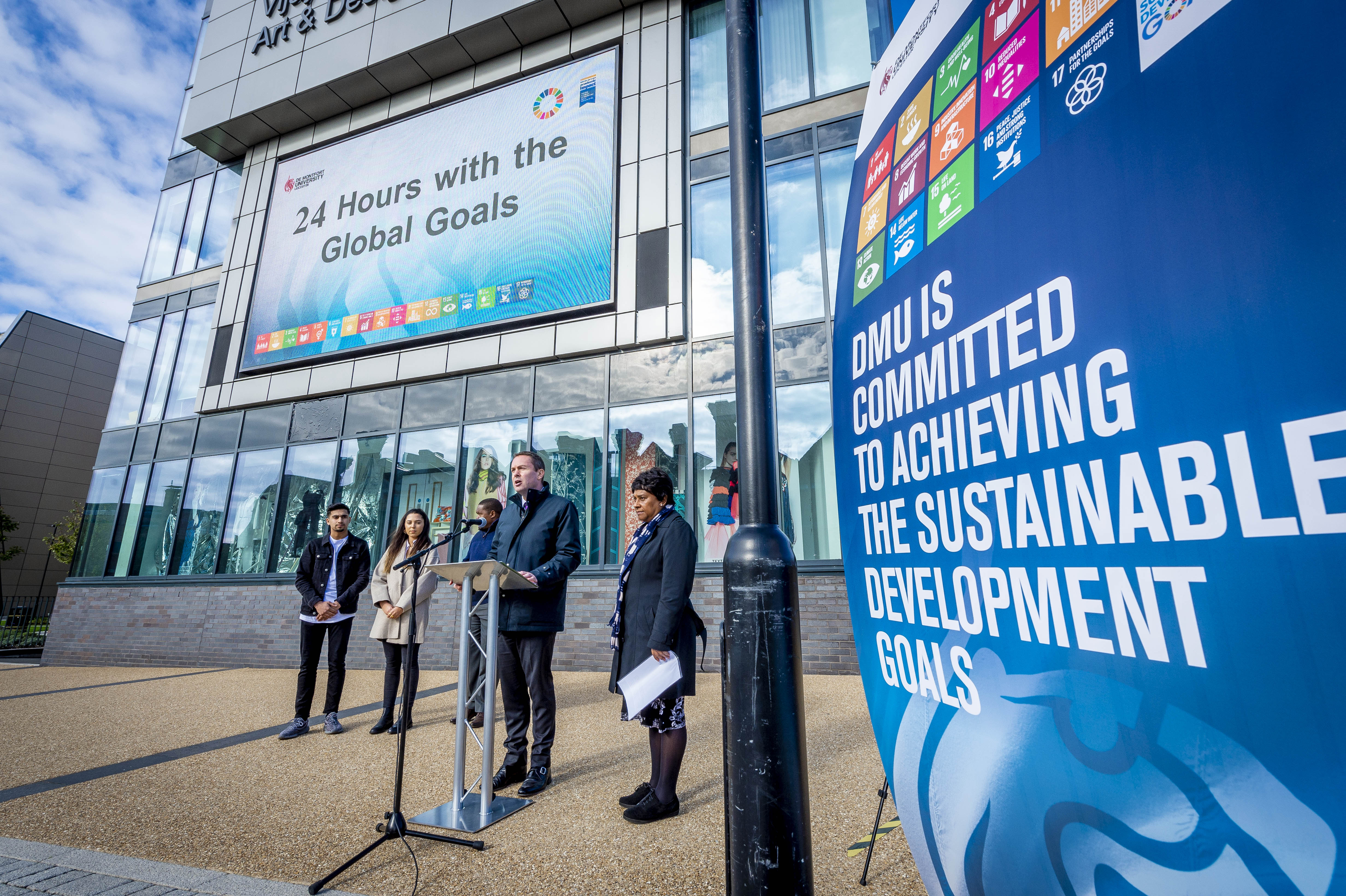 Model United Nations Society relaunches at DMU's 24-hour