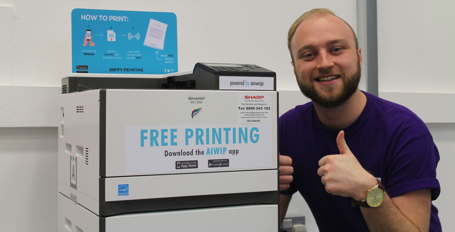 the printer in the hub of the art factory attaches a small advert to printouts and is perfect for lecture slides and revision notes - Free Images For Printing