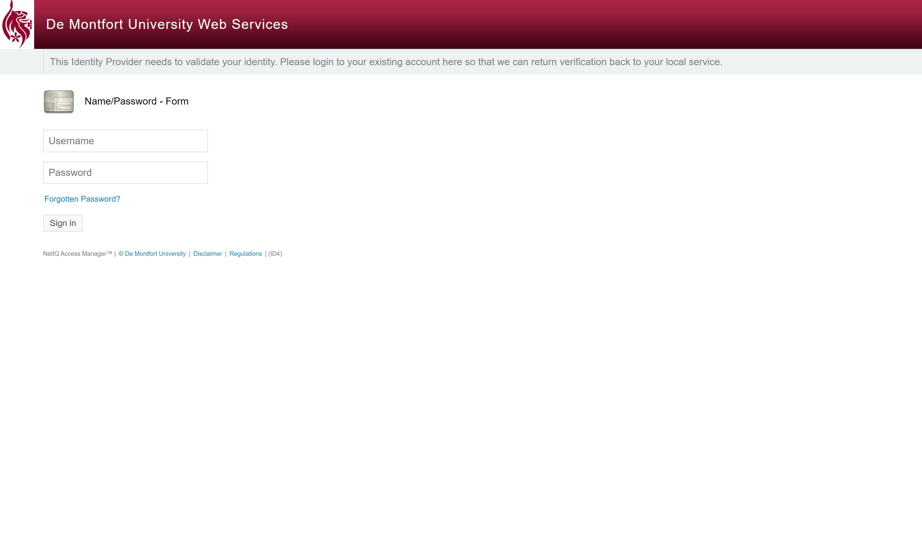 complete the dmu log in