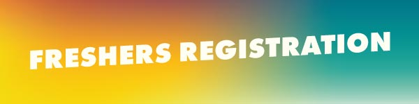 Freshers Registration