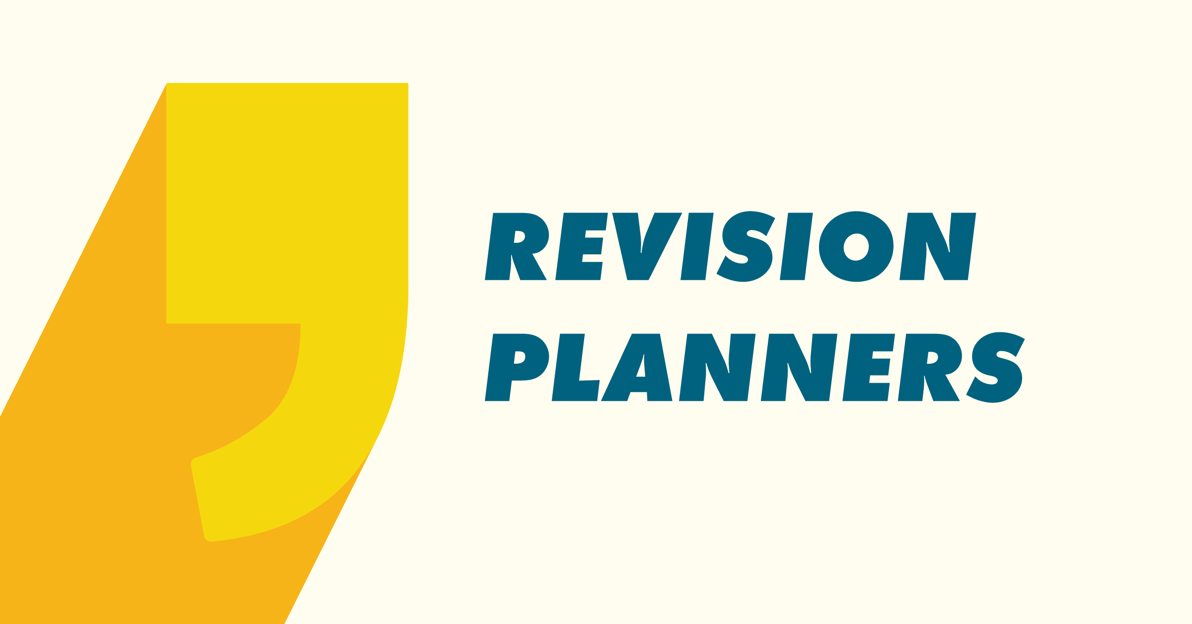 Revision Planners